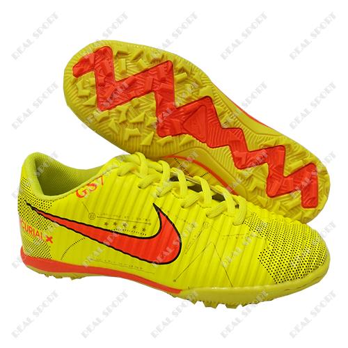 77b14b4a Купить Детская футбольная обувь сороконожки Nike Mercurial X Yellow ...