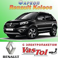 Фаркоп Renault Koleos (прицепное Рено Колеос), фото 1