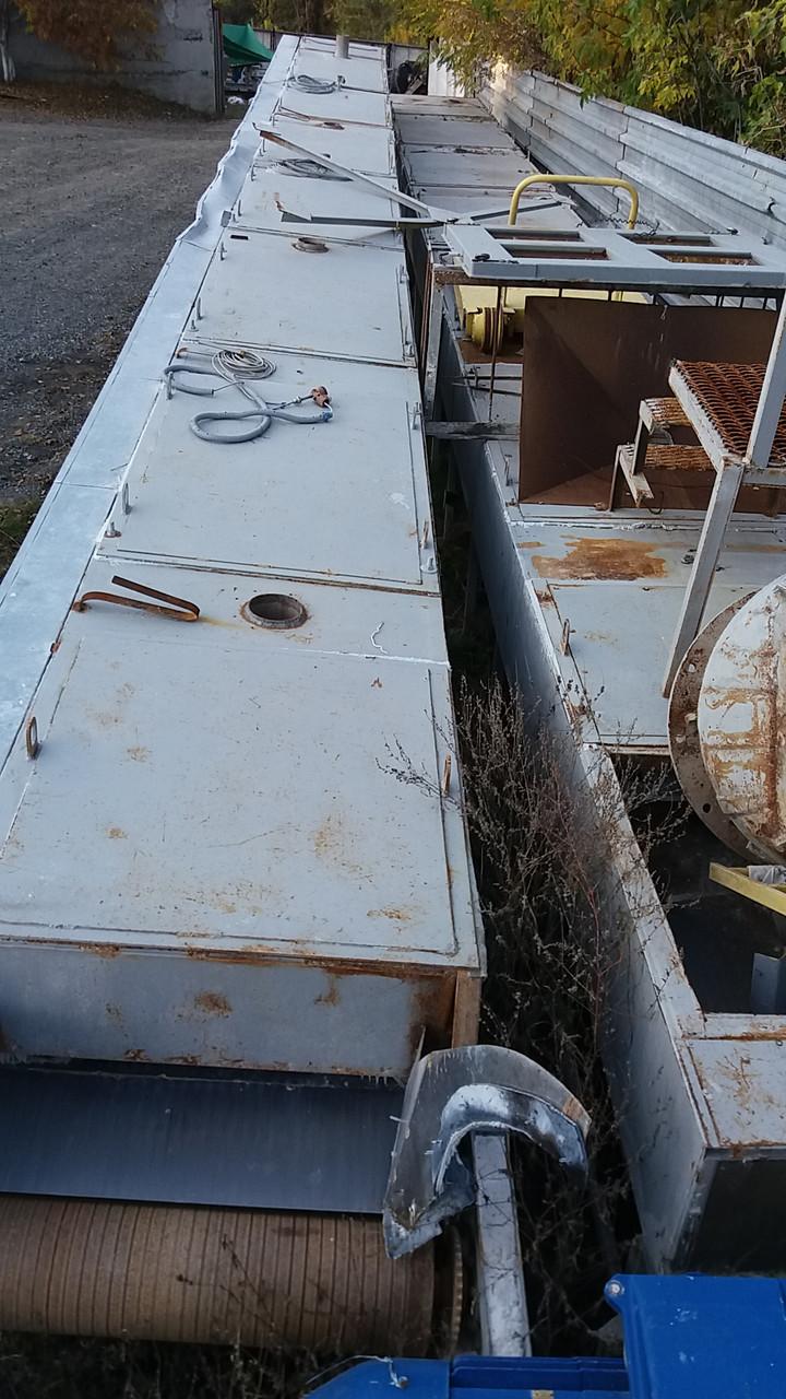 Сушка туннельная транспортерная