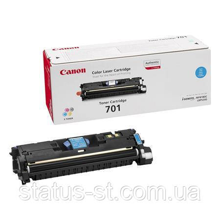 Заправка картриджа Canon 701 Cyan для принтера LВP-5200, МF8180C, фото 2