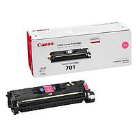 Заправка картриджа Canon 701 Magenta для принтера LВP-5200, МF8180C