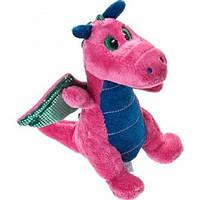 Мягкая игрушка Дракон розовый 20 см