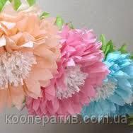 Бумажные цветы в детскую комнату  35 см.