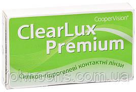 Контактні лінзи ClearLux Premium 3 лінзи