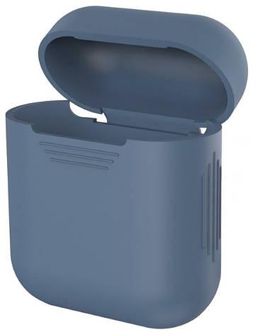 Чехол для наушников AirPods Темно-синий (348527), фото 2