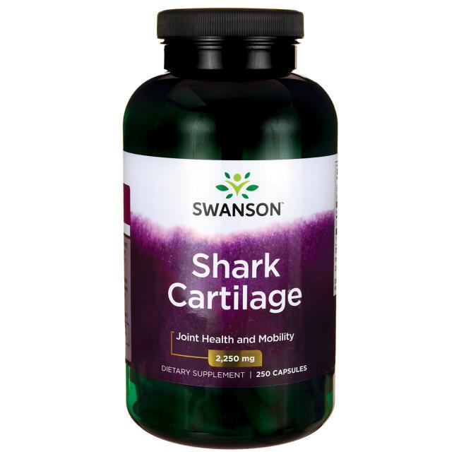 Swanson Shark Cartilage Акулий хрящ  750 мг 250 капс