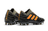 Бутсы adidas Nemeziz 17.1 FG brown, фото 3