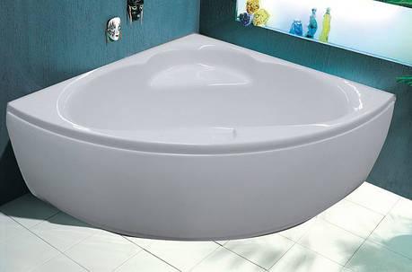 Ванна угловая без гидромассажа 1400*1400*620 мм (рама + ножки + лицевая панель), фото 2
