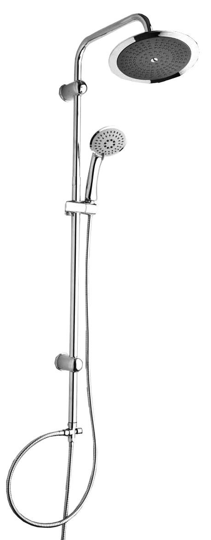Система душевая, L-110 sm, верхний душ d22 см, душ ручной 3 режима, шланг 2 шт, картон