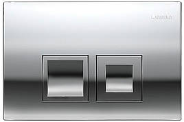 Delta 50 Смывная клавиша, пластик, хром глянц.