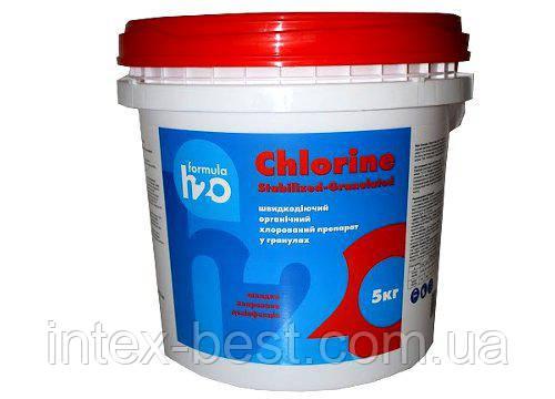 Clorine Stabilised - Tablets - Быстрорастворимые таблетки 20 г., 1 кг, фото 2