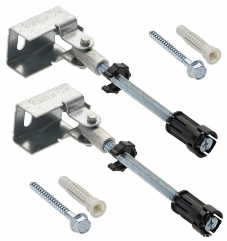 Duofix Комплект крепления к стене при угловом монтаже