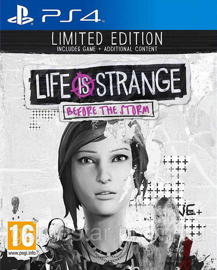 Купить Life is Strange Before the Storm Limited Edition ps4, Square Enix