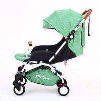 Yoya Care 2018 Light Green Зеленая Прогулочная детская коляска-трансформер 2 в 1 Алюминиевая, фото 1