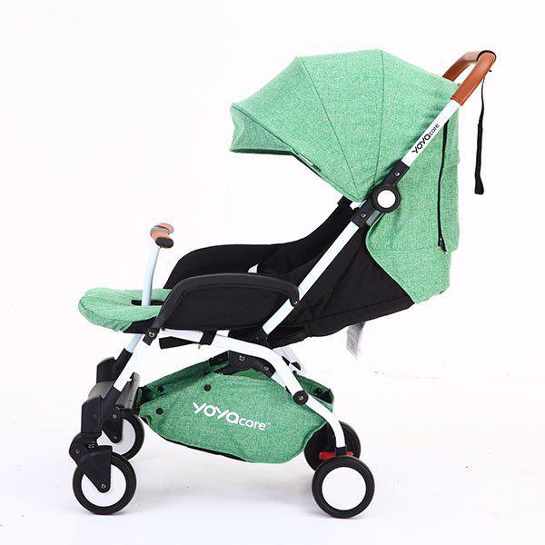 Yoya Care 2018 Light Green Зеленая Прогулочная детская коляска-трансформер 2 в 1 Алюминиевая