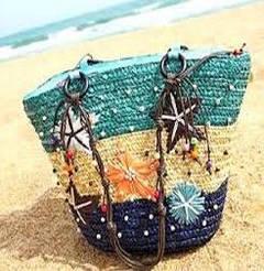 Сумки пляжные летние оптом