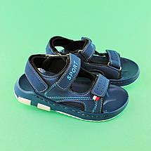 Сандалии детские синие для мальчика Том.М размер 29,30, фото 2