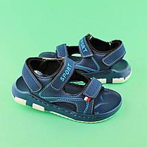 Сандалии детские синие для мальчика Том.М размер 29,30, фото 3