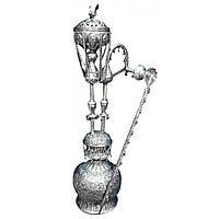 Кальян  серебро 80 см