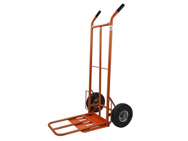 Транспортная ручная тележка 250 кг 400x300 мм (выдвижная платформа) GEKO G71102