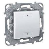 Выключатель 2-кнопочный для подкл. в шину KNX с подсветкой Белый Unica Schneider, MGU5.530.18