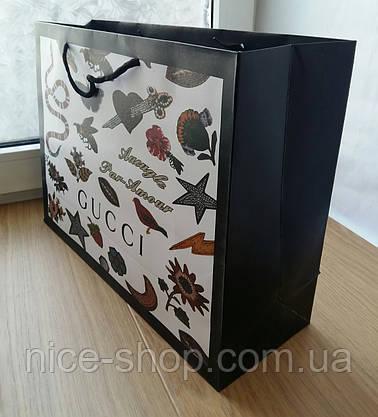 Подарочный пакет Gucci: горизонталь, mахi, фото 3