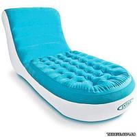 Intex Велюр кресло-шезлонг 68880 84-170-81 см