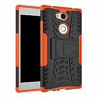 Чехол Sony L2 / H4311 / H3311 / H3321 / H4331 противоударный бампер оранжевый