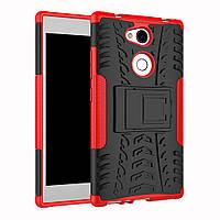 Чехол Sony L2 / H4311 / H3311 / H3321 / H4331 противоударный бампер красный