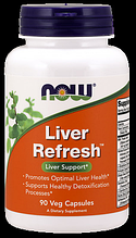 Очистка печени,  Now Foods, Liver Refresh, 90 Caps