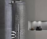 Система скрытого монтажа для душа - экономия пространства в вашей ванной комнате