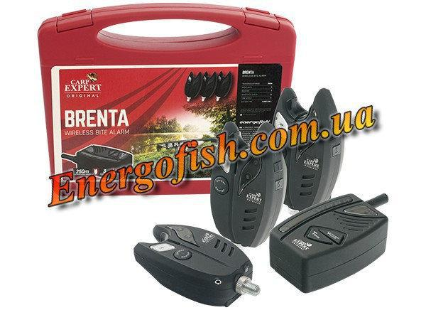 Набор радио сигнализаторов Carp Expert Brenta (4+1) 200м