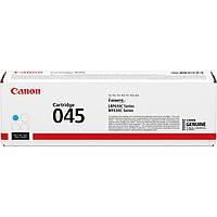Заправка Canon 045 cyan для принтера i-sensys LBP611Cn, LBP613Cdw, MF631Cn, MF633Cdw, MF635Cx