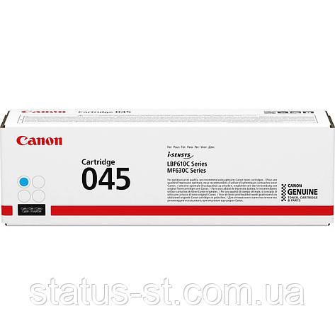 Заправка Canon 045 cyan для друку i-sensys LBP611Cn, LBP613Cdw, MF631Cn, MF633Cdw, MF635Cx, фото 2