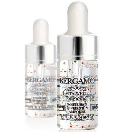 Осветляющая сыворотка с витаминами BERGAMO Vita White Perfection Ampoule, 13 мл, фото 2