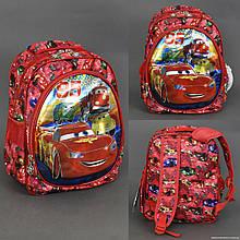 Шкільний рюкзак 3D Тачки