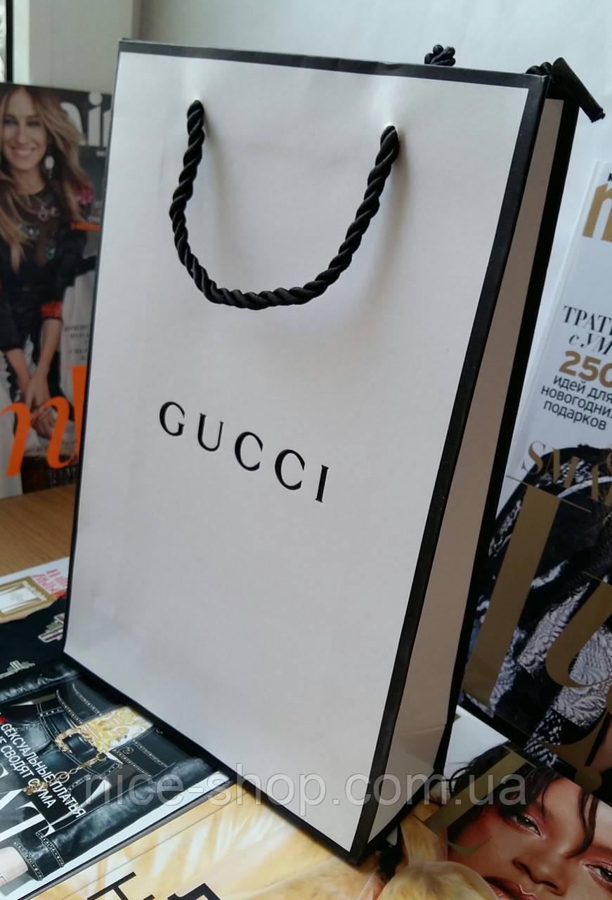 Подарунковий пакет Gucci: вертикаль, mini