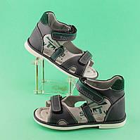 Босоножки для мальчика серия летней обуви Ортопед размер 20,22