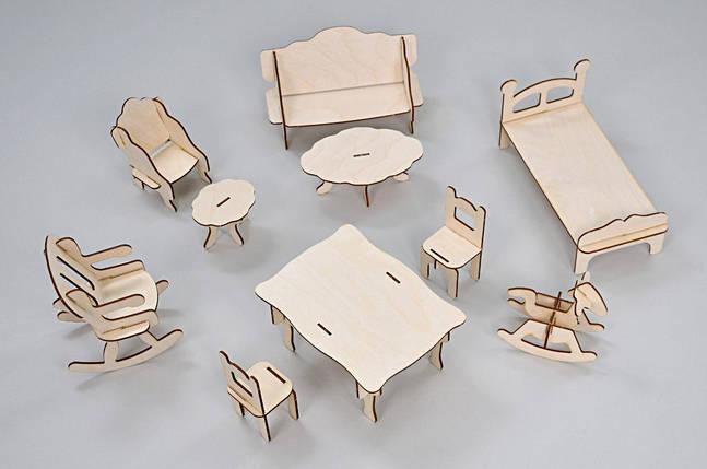 Набор мебели FANA для кукол (10 предметов), фото 2