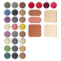 Набор для макияжа maXmaR ME-835 №2 (тени+пудры+румяна+ блески ), фото 2