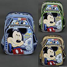 Шкільний ортопедичний рюкзак Міккі Маус