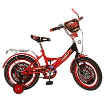 Детский велосипед двухколесный 16 дюймов CS161 Тачки