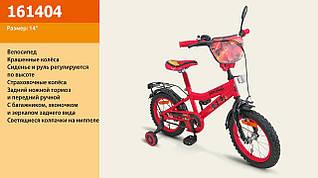 "Велосипед 2-х колес 14'' 161404 ""Ninjaga"" со звонком, зеркалом"