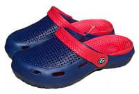 Тапочки женские сабо ЕВА FX Shoes синее, фото 1