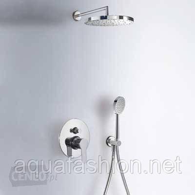 душевая система со смесителем и верхним душем