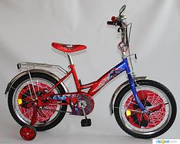 "Детский велосипед Baby Tilly BT-CB-0009 Спайдермен  18"" дюймов***"