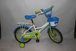 Велосипед детский двухколёсный 20 дюймов Azimut Haррy Crosser-4 салатовый