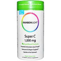 Rainbow Light, Супер С, 1000 мг, 120 таблеток