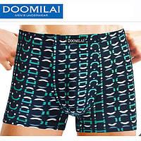 Мужские боксеры стрейчевые из бамбука  Марка  «DOOMILAI» Арт.D-01054