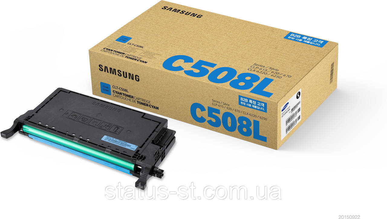 Заправка Samsung CLP-620, CLP-670, CLX-6220 (CLT-C508S) cyan в Киеве